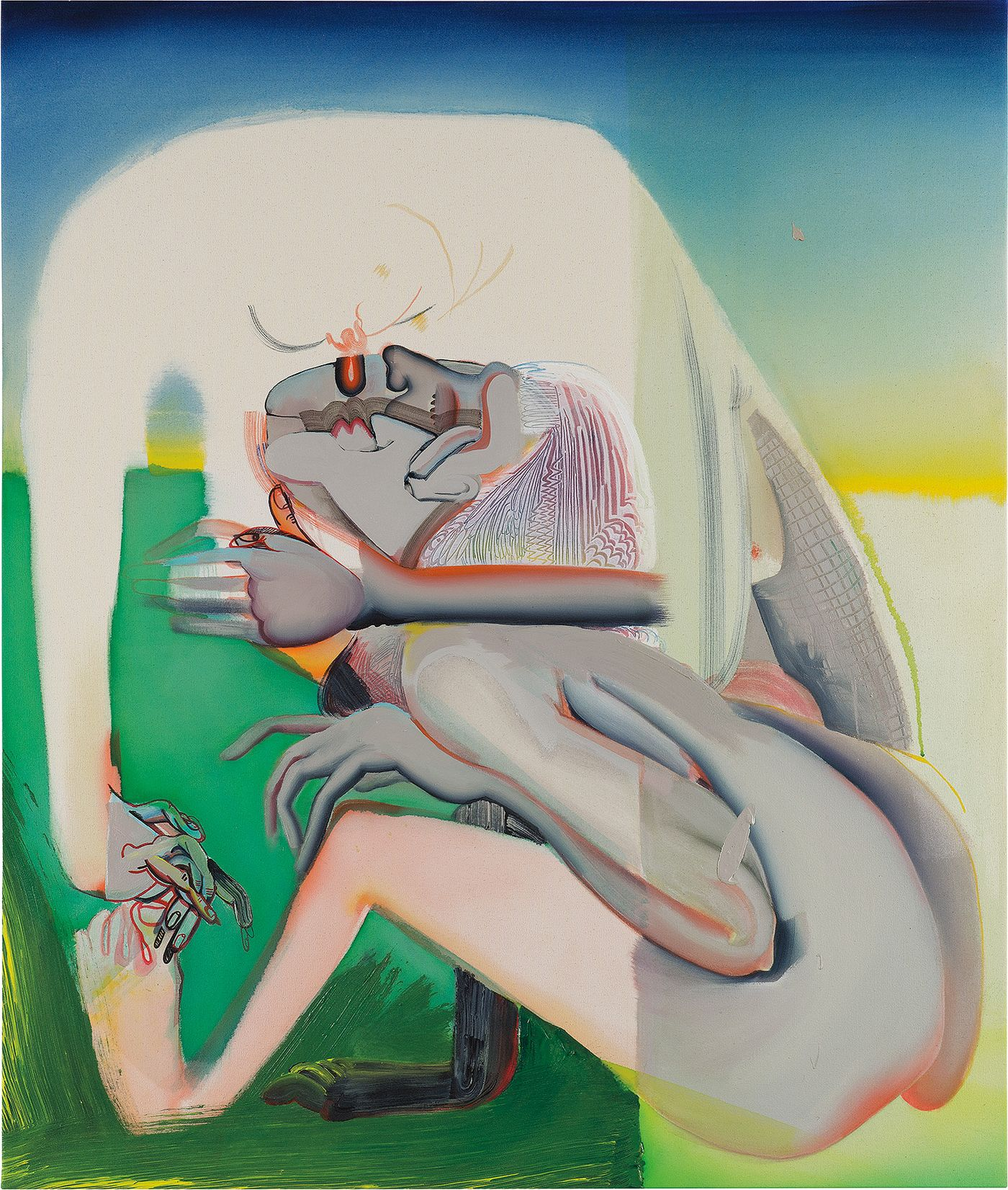 Having found critical and commercial success extremely early in her career, the American artist uses painting as a way to explore her multi-hyphenate identity.