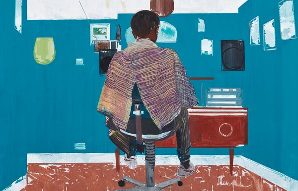 British-Jamaican artist Hurvin Anderson uses perspective and abstraction to produce sumptuous, energized scenes coursing with the tempo of daily life.