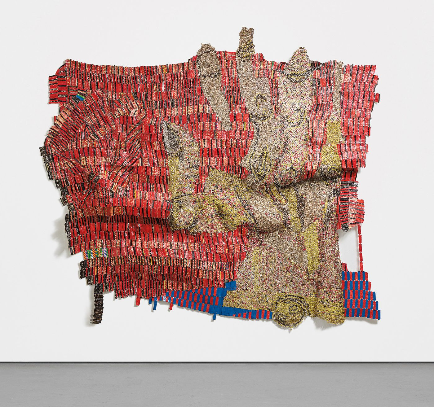 Highlighted by an exceptional El Anatsui installation, this important collection is unified by a sense of energetic complexity.