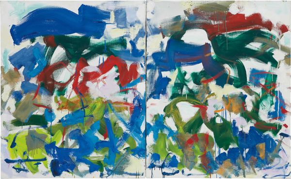 From the artist's sweeping, exuberant paintings of the 1980s, 'Hours' bridges Abstract Expressionism and Post-Impressionism.