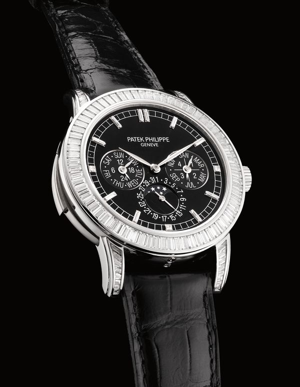 Among the Swiss watchmaker's most lavish and luxurious creations, this contemporary model—first introduced in 2011—comes to Phillips Hong Kong fitted with 5.288 carats of diamonds.