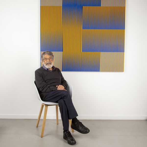Last year, Specialist Valentina Garcia sat down with the Franco-Venezuelan artist in his studio ahead of his London Phillips X exhibition. In this previously unpublished interview, the pair discuss Cruz-Diez' decades-long exploration of color and the early challenges that came to define his career.