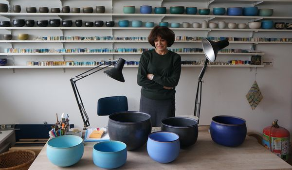 We caught up with the Paris-based ceramist who shared how vibration—and not perfection—are part of her minimal practice.