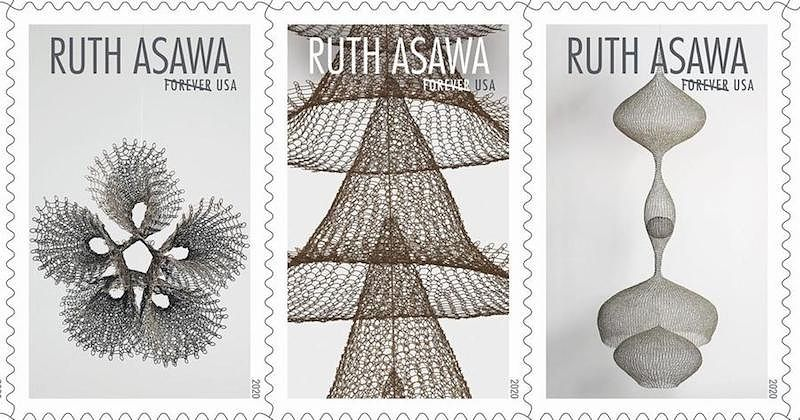 How Ruth Asawa's postage stamps, designed by Ethel Kessler, became the most beloved of the year.