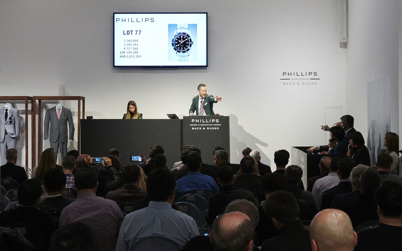 We are pleased to announce that the company's second New York watch auction has achieved $11,523,500 / CHF11,500,453 / €10,155,661, selling 96% by lot and 96% by value.