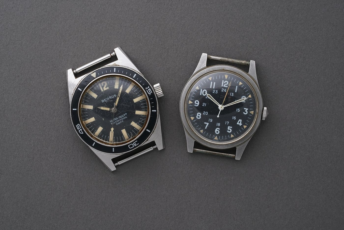 Our New-York based Specialist Isabella Proia tells the story of two stainless steel military wristwatches, consigned by the daughter of United States Air Force Senior Master Sergeant James J. Stanford, that confirm Benrus watches were made for and worn by active CIA agents during the 1960s.