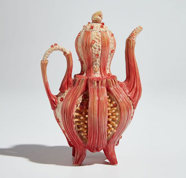 """Elizabeth McCracken imagines the family lore behind a fantastical Bonnie Seeman teapot in this new installment of our creative writing platform, """"The Prompt."""""""