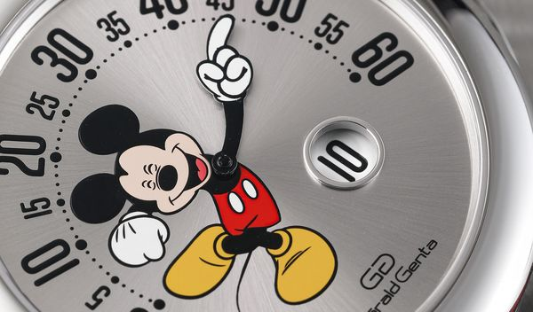 Walt Disney's playful characters have adorned Genta-made watches since the 1980s and now one very famous mouse is back in a stainless steel, mono-retrograde limited edition that is sure to have collectors in a frenzy.