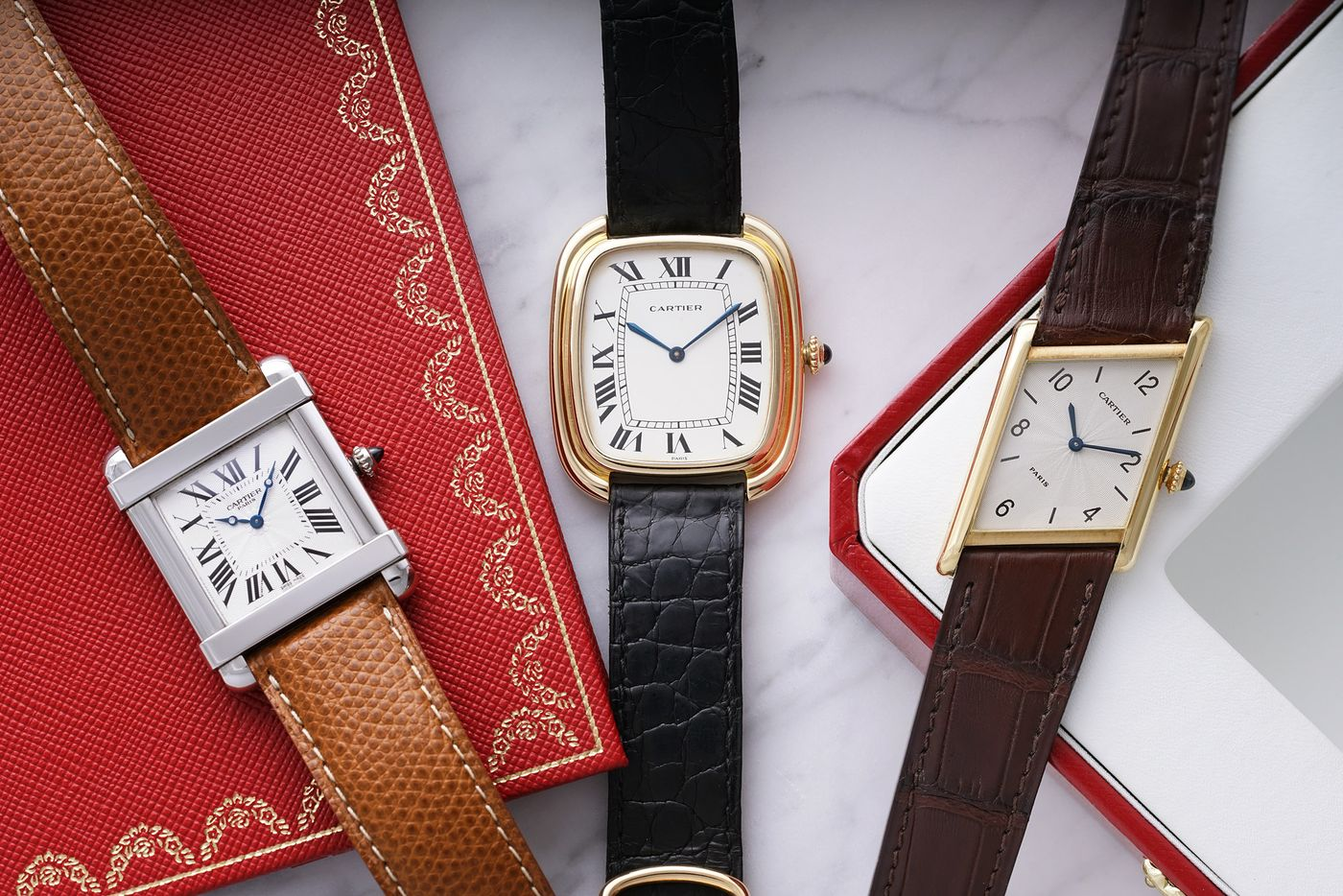 Ahead of The Gevena Watch Auction: XI, renowned author and watch journalist Nick Foulkes pens a declaration of love for the timeless beauty of Cartier's shape-shifting wristwatches.