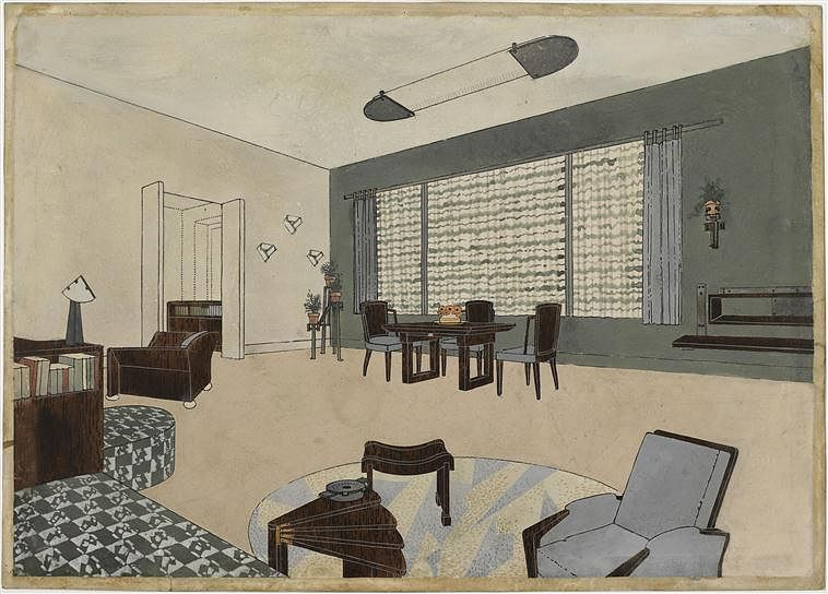 """Phillips is pleased to offer a group of important works by Pierre Chareau, three of which were recently included in the critically-acclaimed exhibition """"Pierre Chareau: Modern Architecture and Design"""" at the Jewish Museum in New York."""