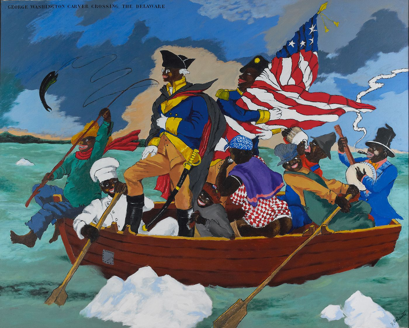 Seattle Art Museum's newest exhibition, 'Figuring History', explores leading American artists Robert Colescott, Kerry James Marshall and Mickalene Thomas, whose work reexamines history painting.