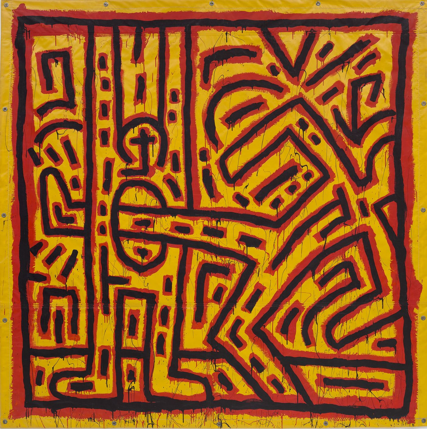We explore the cover lot from our upcoming London Evening Sale: an early Keith Haring masterpiece.