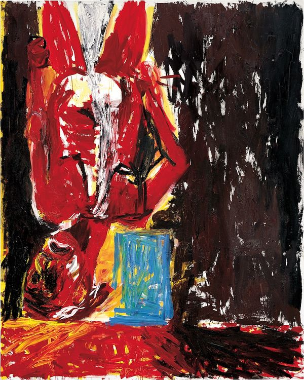'Das letzte Selbstbildnis I' ('The last self-portrait I') is a masterpiece of beauty and talent, belonging to the artist's most outstanding year of production, 1982.
