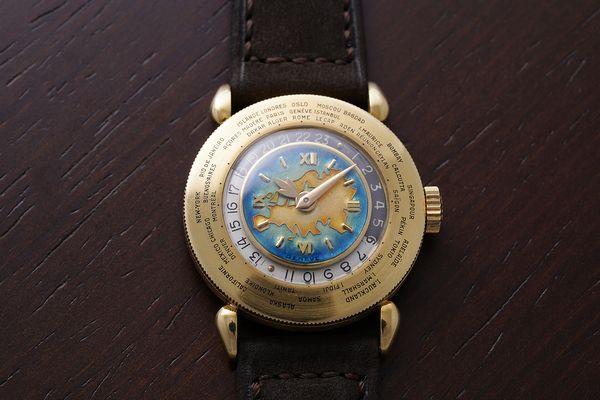 Patek Philippe Reference 1415 Enamel Geneva Watch Auction SEVEN