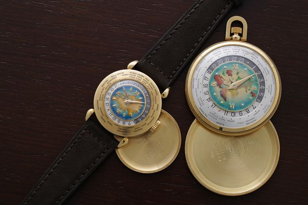 Matching Pair Patek Philippe Reference 1415 and 605 Geneva Watch Auction SEVEN