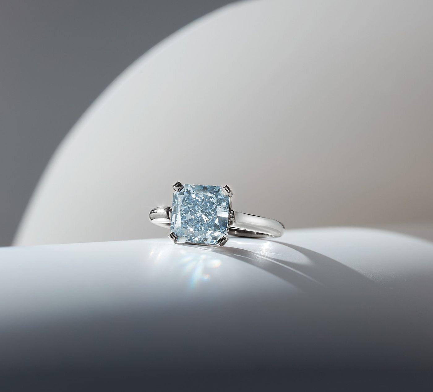 Incredibly rare and exceedingly difficult to cut, blue diamonds rank among the most prized gemstones.