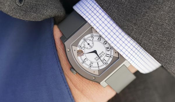 Is this the most unexpected match in the world of watches? Aurel Bacs explains why he fell for the F.P. Journe Elégante 48MM Titalyt®, a watch unlike any that he's previously owned – or sold, for that matter.