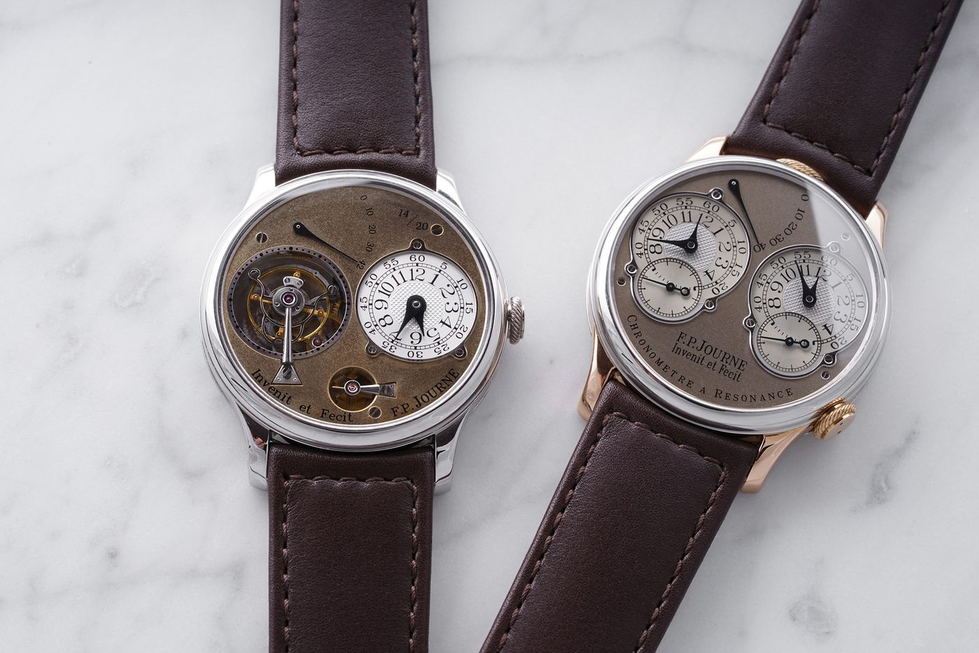 Arthur Touchot meets Lorenz Bäumer, one of the consignors of The Geneva Watch Auction: XI, to learn about two fresh-to-market F.P Journe wristwatches made before the watchmaker's rise to stardom.