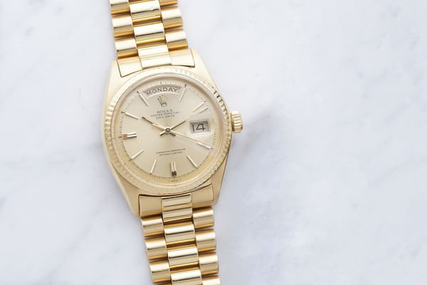 Before seeing it go during next month's auction, Jack Nicklaus shares the incredible story of his Rolex Day-Date, and the legacy it will leave to children's healthcare.