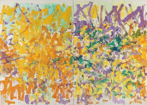 瓊.米丘(Joan Mitchell)兩幅《無題》畫作於富藝斯紐約的二十世紀及當代藝術晚間拍賣亮相。