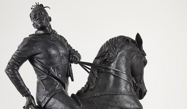 Kehinde Wiley's 'Rumors of War' offers a rebuttal to Jim Crow-era sculpture and the physical (and historical) monumentalization of Confederate leaders. In the process, Wiley demonstrates the necessity of humanizing forms in dehumanizing spaces.