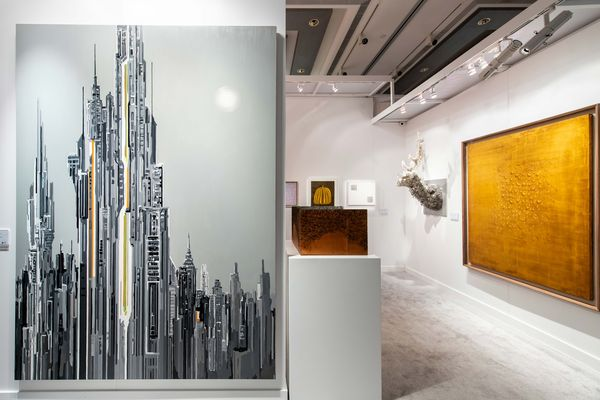 Join us for a virtual walkthrough from the JW Marriott Hotel of our Hong Kong 20th Century & Contemporary Art Sales, in association with Poly Auction. On view: Yoshitomo Nara, Banksy, Emily Mae Smith, George Condo, and more.
