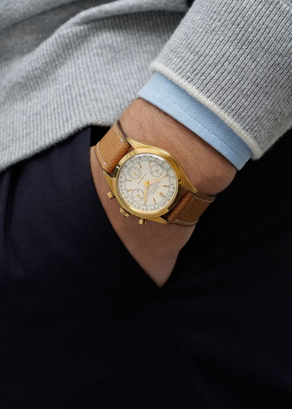 Lot N° 145 - Rolex yellow gold Reference 6234