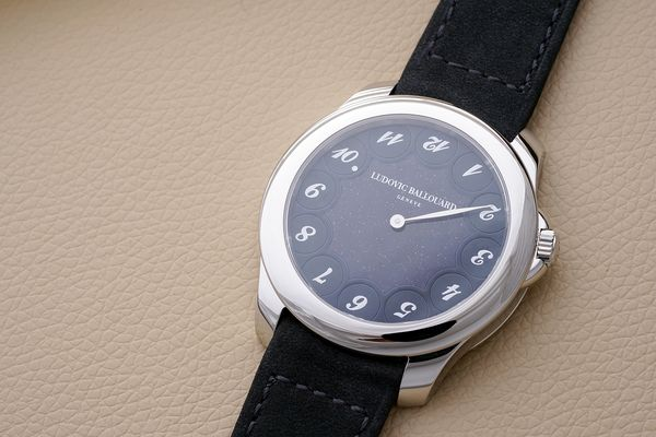 The 'Upside Down' is a watch that acts very differently from most traditional watches.