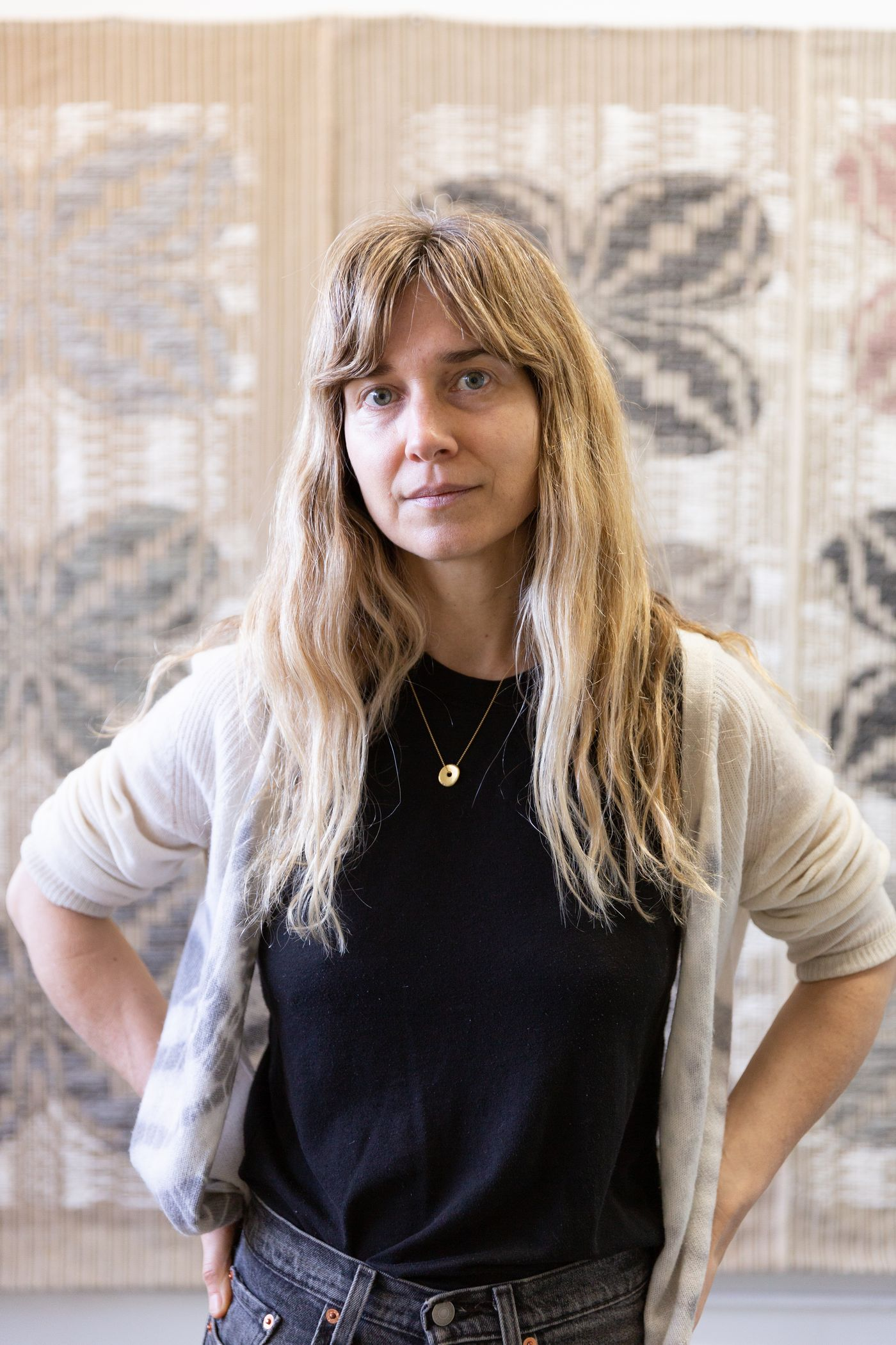 In the first installment of our new Design series, we speak with Los Angeles-based textile artist Christy Matson and learn more about her practice.