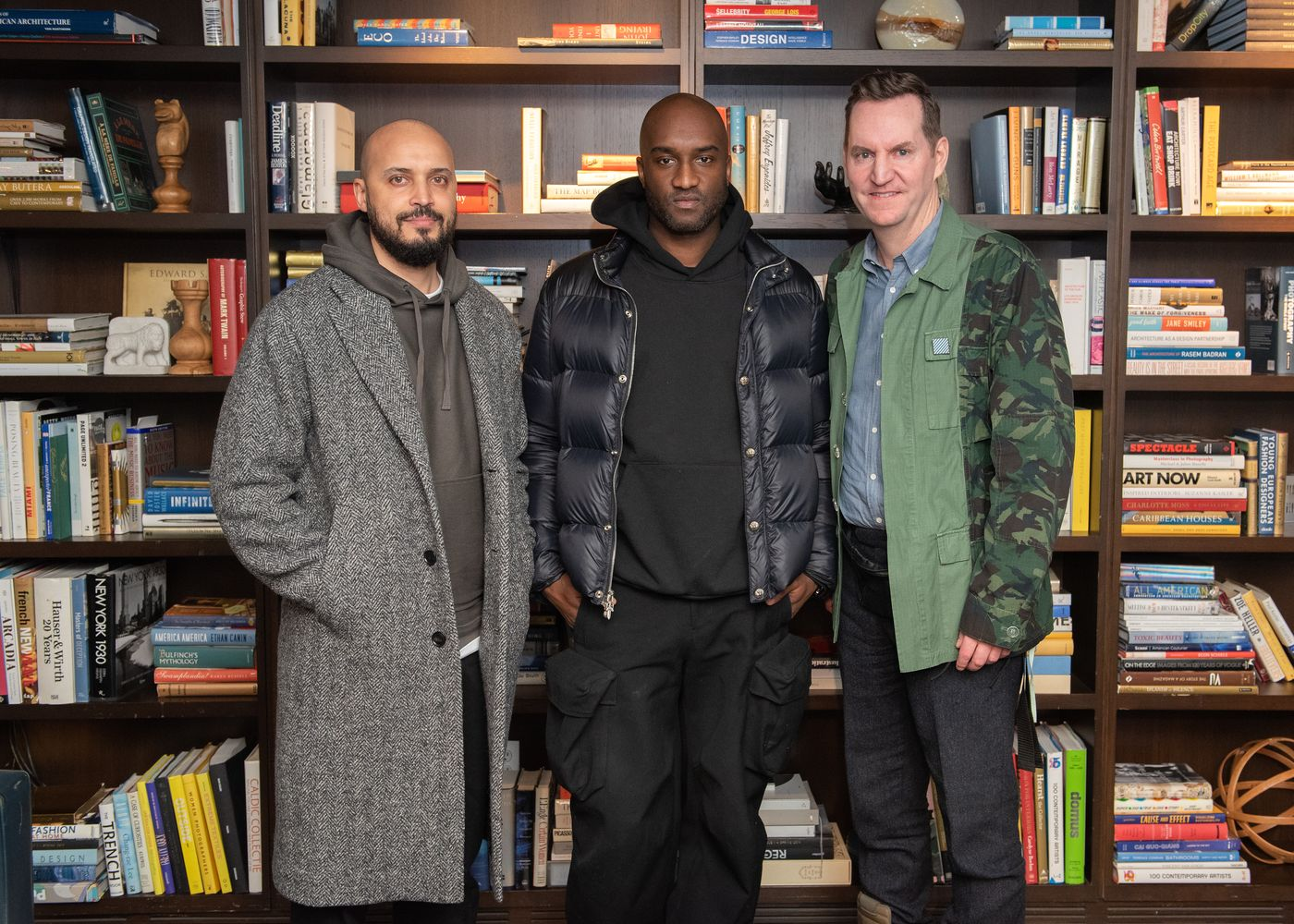 """Now on view at MCA Chicago, Virgil Abloh: """"Figures of Speech"""" takes a closer look at the artist and designer's multidisciplinary oeuvre. We sat down with Chief Curator Michael Darling to find out more."""