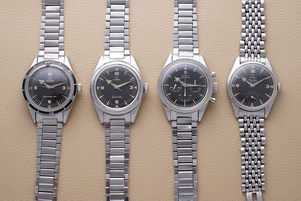 """Known today by collectors as """"The Holy Trinity"""", the Seamaster 300 (ref. CK 2913), Railmaster (ref. CK 2914), and the Speedmaster (ref. CK 2915) were introduced in 1957 to make Omega competitive in one of the fastest growing segments of the watch market: professional tool watches. These were followed swiftly with the release of a fourth model, the Ranchero aka """"The Fourth Musketeer"""", in 1958. Arthur Touchot breaks down what makes each watch individually unique and explains why together, the """"Broad Arrow"""" models form one of the most successful product launches of the 20th century."""