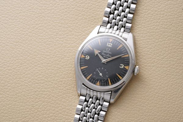 Omega Ranchero Ref 2990 with broad arrow hands for Phillips Geneva Watch Auction Eight