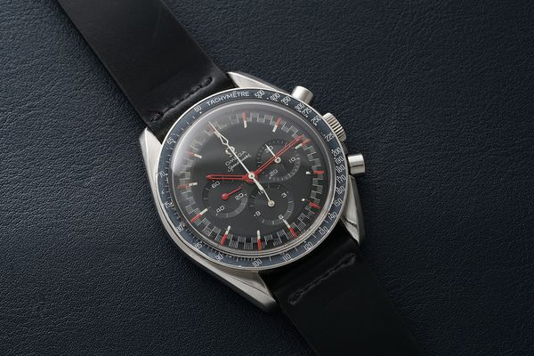 """Was the """"Red Racing"""" dial part of a batch of prototype dials, or did Omega make them for a specific factory-built model? A fresh-to-market example, purchased in Zurich in 1969, produces some new evidence pointing to the latter."""