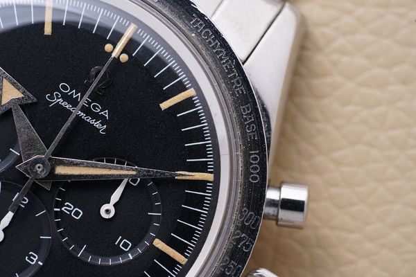 Omega Speedmaster ref 2915-2 with broad arrow hands for Phillips Geneva Watch Auction Eight