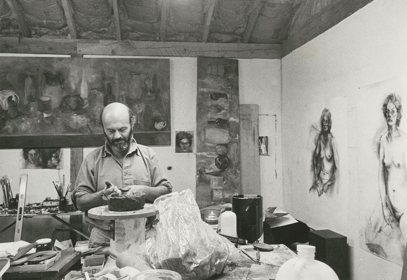 Jim Dine has been prolific in his 60-plus years of producing works, from large-scale Pop-inflected paintings to emotive collaged works-on-paper. Dine is often considered alongside rougher painters like Robert Rauschenberg and Jasper Johns.