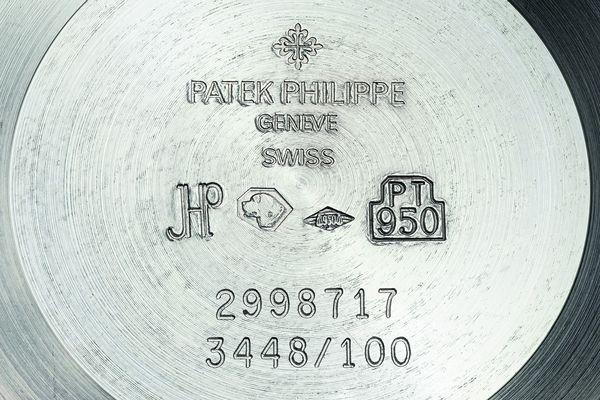 Patek Philippe Perpetual Calendar Reference 3448 Caseback