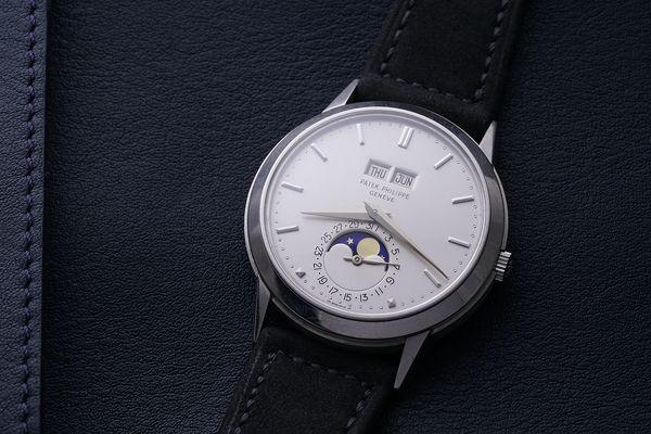 Patek Philippe Perpetual Calendar Reference 3448 in Platinum