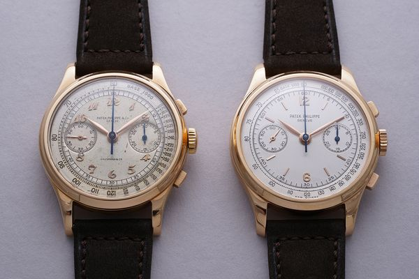 Patek Philippe Reference 530 in pink gold Geneva Watch Auction: SEVEN
