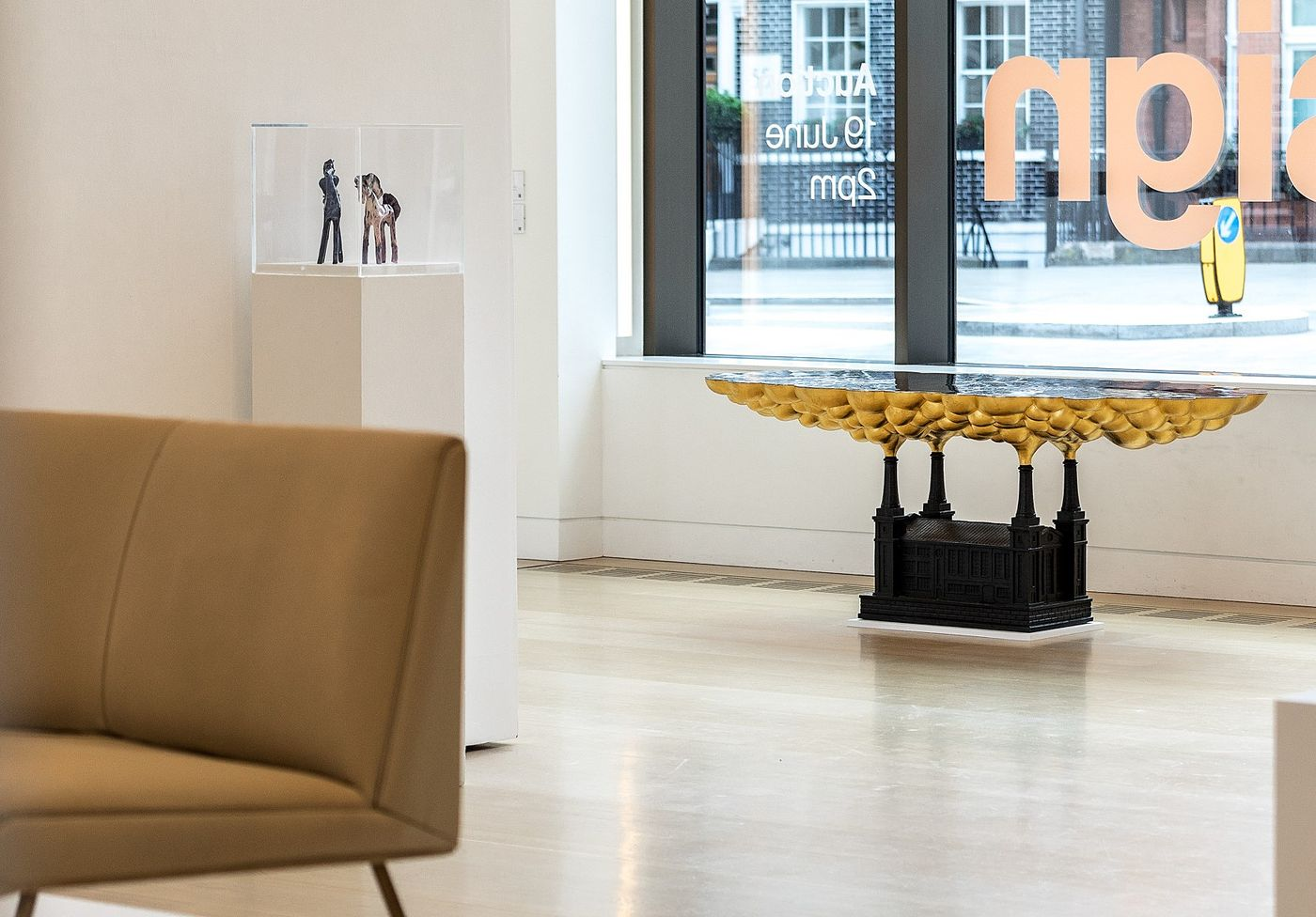 Tour our Design sale in this virtual reality walkthrough from 30 Berkeley Square. On view: Gio Ponti, Fontana Arte, Max Ingrand, Claude Lalanne and more.