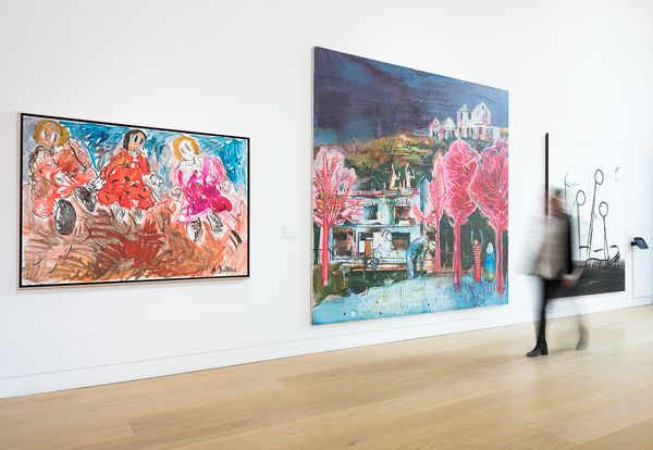 Tour New Now in this virtual reality walkthrough from 30 Berkeley Square in London. On view: KAWS, Stanley Whitney, Peter Halley, Tracey Emin, Yayoi Kusama, Daniel Richter and more.