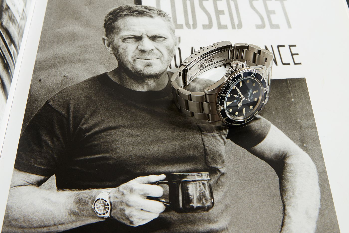 "Phillips returns to New York this December with another iconic Rolex, owned and worn by one of America's most well-known actors. After Paul Newman's ""Paul Newman"", it's time for Steve McQueen's Submariner."
