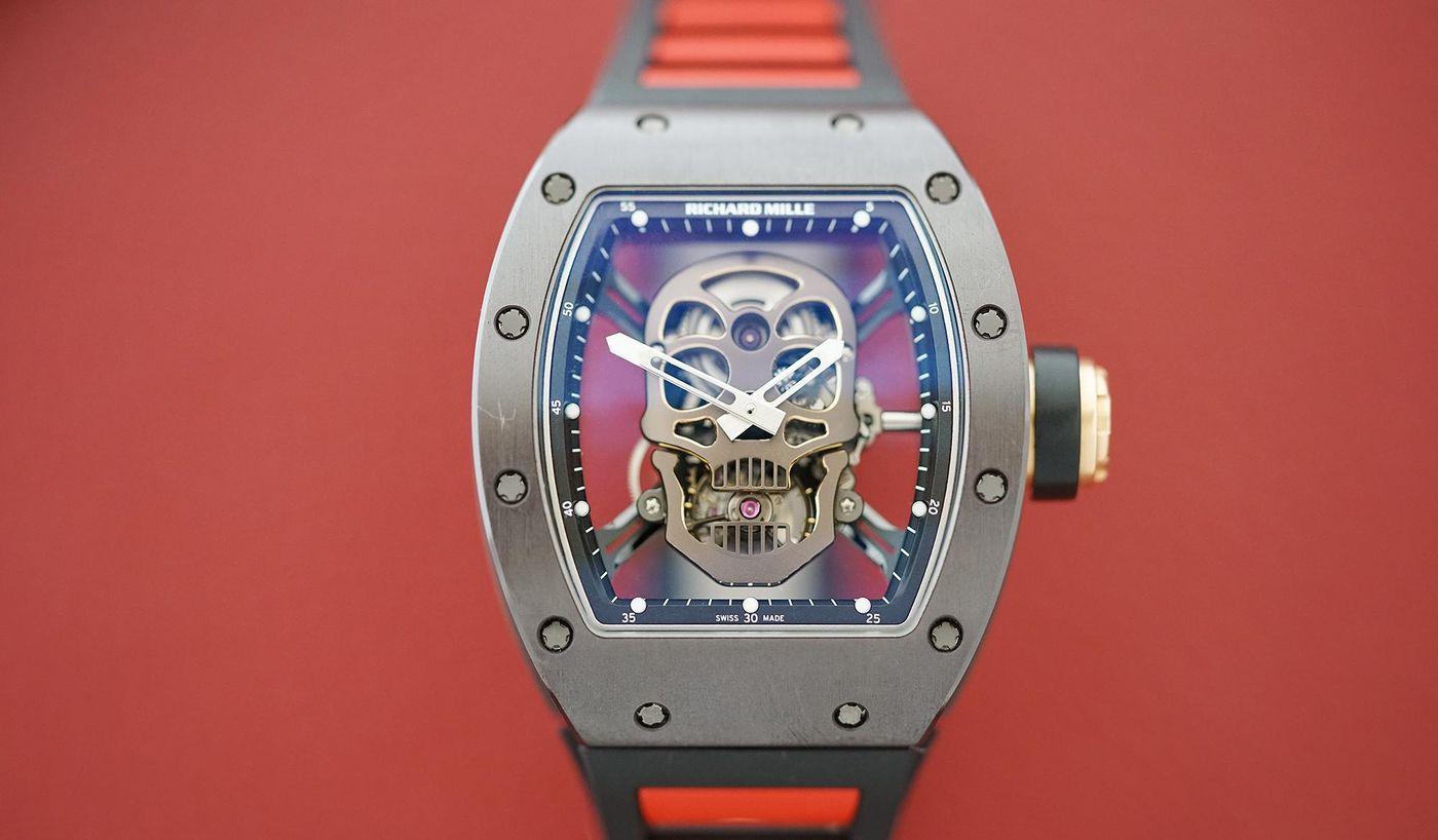 Phillips The Richard Mille Skull Rm 52 01