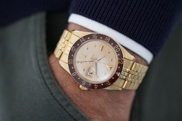Rolex GMT-Master Ref 6542 sold by Serpico Y Laino