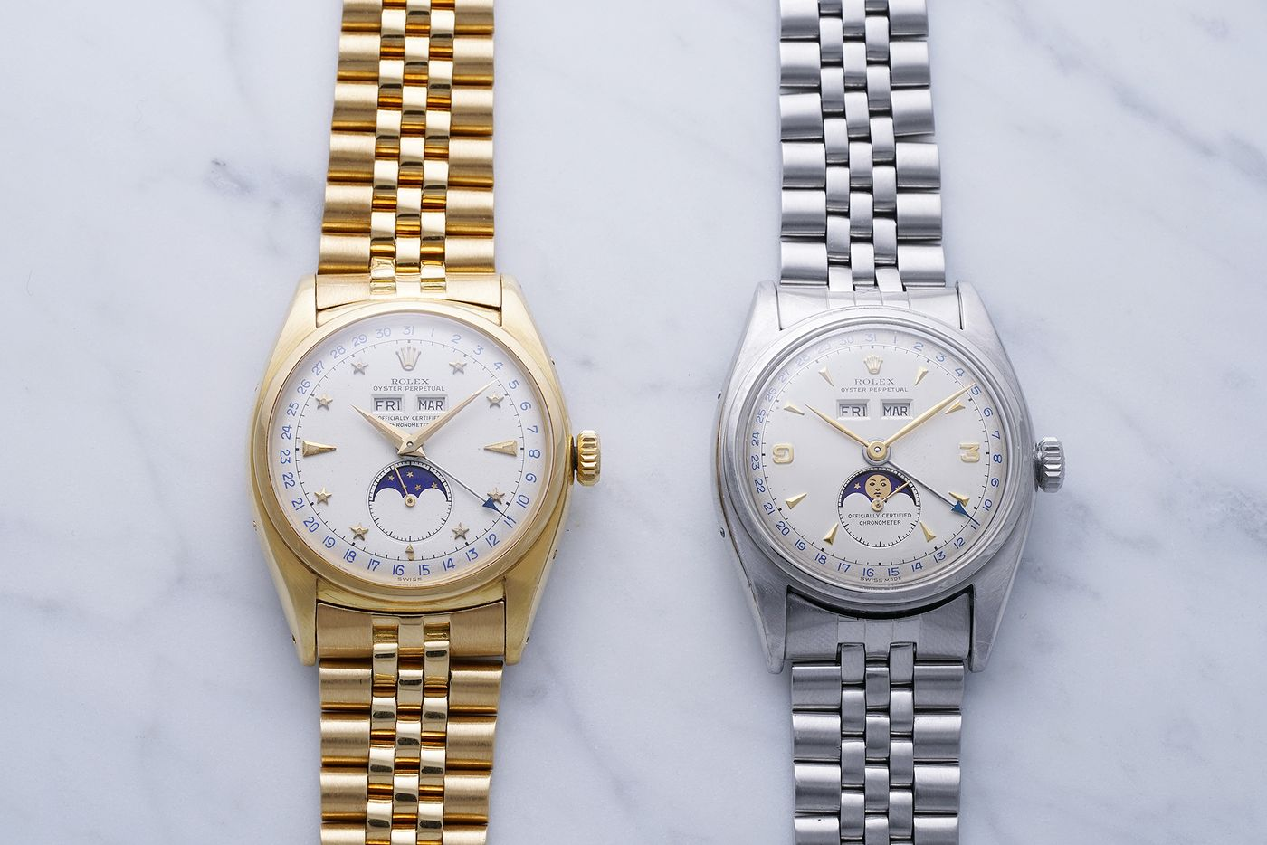 37addf1947 PHILLIPS : Two Very Different Rolex Reference 6062 Watches United At ...