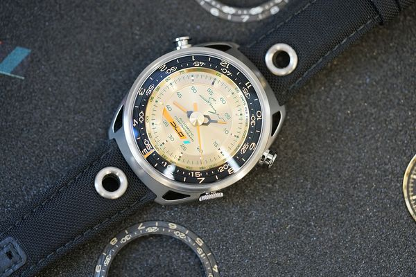 The Track 1 DLS is a customizable version of the company's original chronograph.