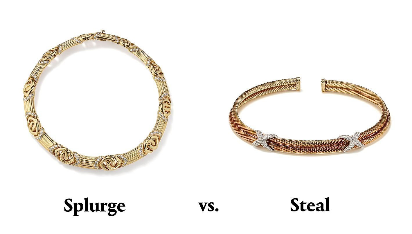 PHILLIPS : Splurge vs  Steal: A Jewelry Style Guide