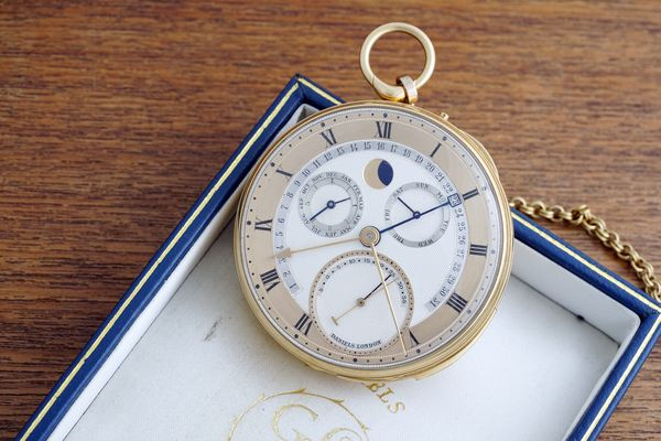The George Daniels Grand Complication, one of the last and most complicated pocket watches made by the late British watchmaker, will headline this Spring's Geneva sale. Ahead of the auction, Daniels' former protege, Roger W. Smith, a man who spent many years learning and perfecting the Daniels method by working alongside him on the Isle Of Man, remembers what it was like to work for the genius watchmaker and explains why The Grand Complication ranks as one of his seminal works.
