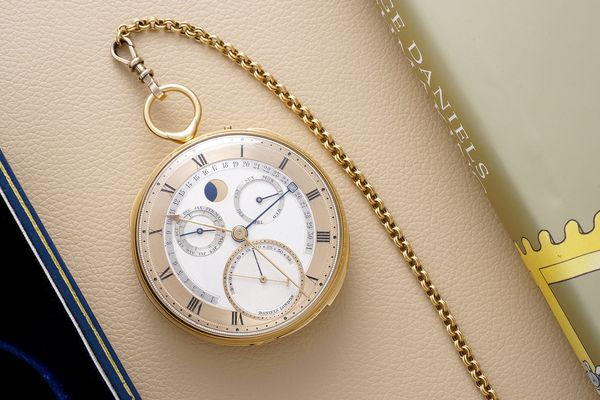 The George Daniels Grand Complication Pocket Watch