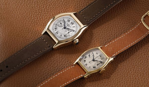 This season, Phillips in Association with Bacs & Russo has been entrusted with the sale of the original and Collection Privée Cartier Paris version of the Cartier single button chronograph wristwatch, providing an exclusive opportunity to view both iconic models, side by side.