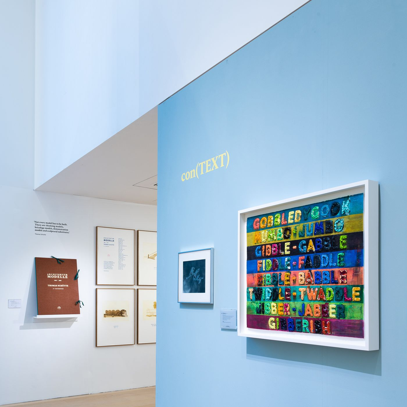 Through a group of editions by Mel Bochner, Jenny Holzer and other prominent artists, we explore the shifting role of written language in creating and extracting a work's meaning.